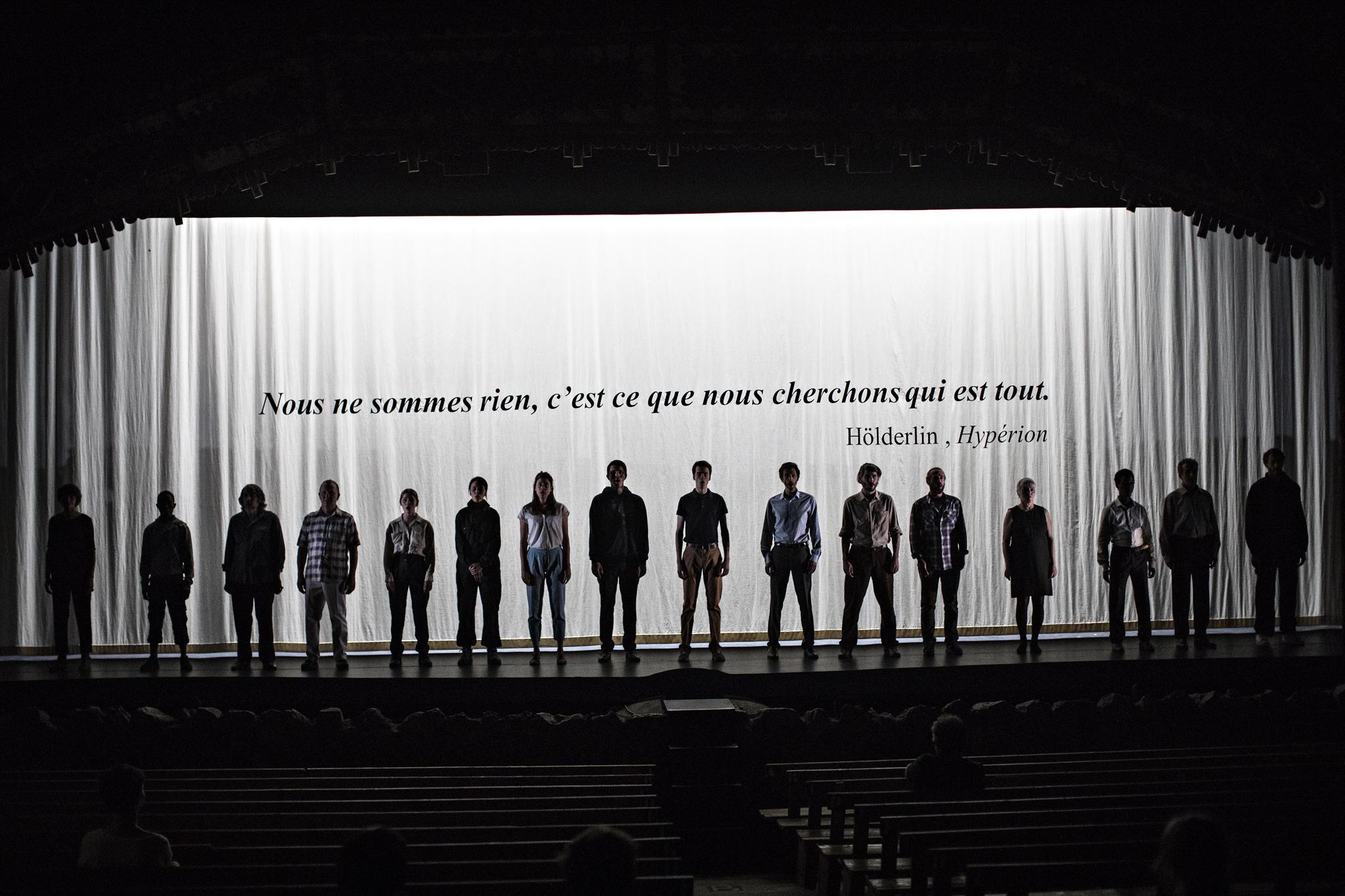 Littoral, de Wajdi Mouawad, mise en scène Simon Delétang, Théâtre du Peuple 2018 - Littoral5©JeanLouisFernandez108