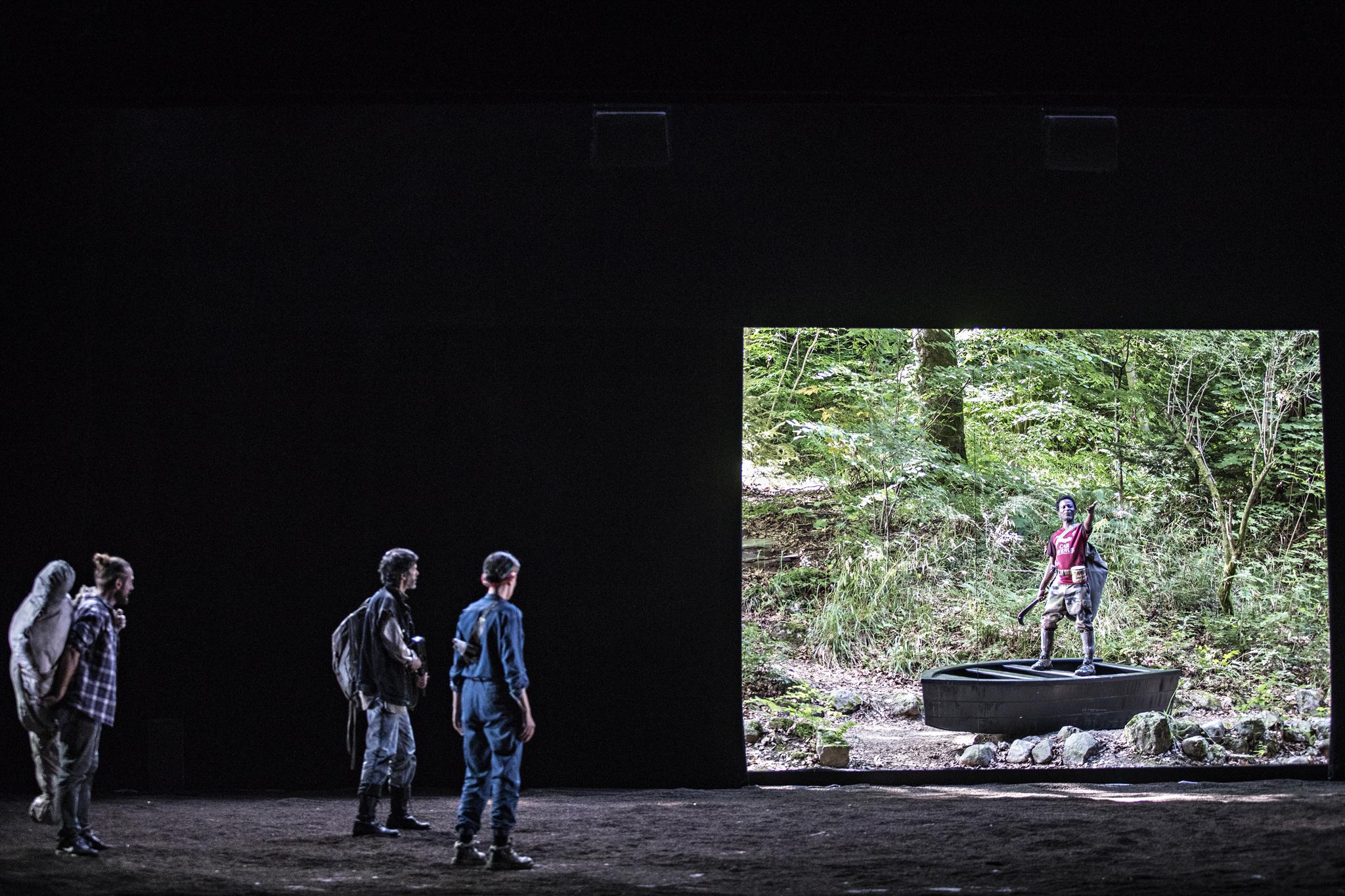 Littoral, de Wajdi Mouawad, mise en scène Simon Delétang, Théâtre du Peuple 2018 - Littoral5-®JeanLouisFernandez091