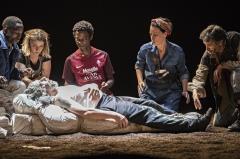 Littoral, de Wajdi Mouawad, mise en scène Simon Delétang, Théâtre du Peuple 2018 - Littoral4-®JeanLouisFernandez073