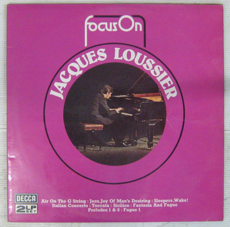 LOUSSIER JACQUES - Focus On - LP x 2