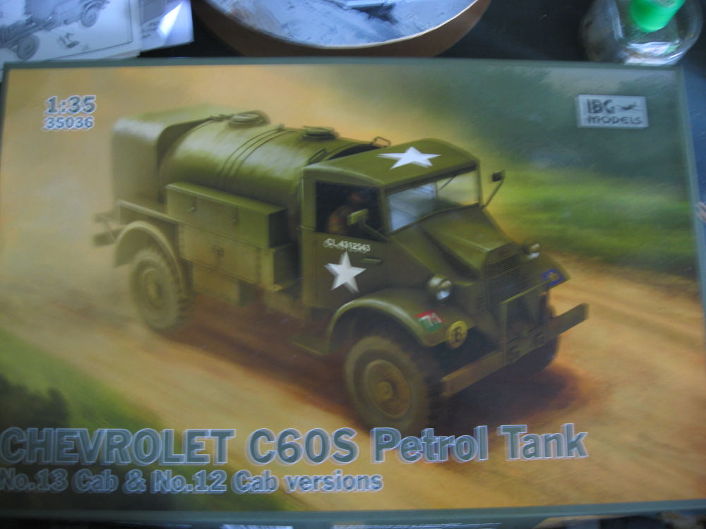 CMP chevrolet et Ford c60 petrol tank et water tank 18072804112623329215825644