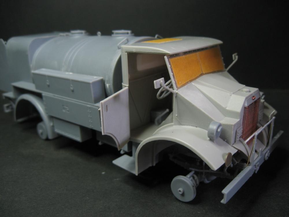 CMP chevrolet et Ford c60 petrol tank et water tank 18072804121523329215825650
