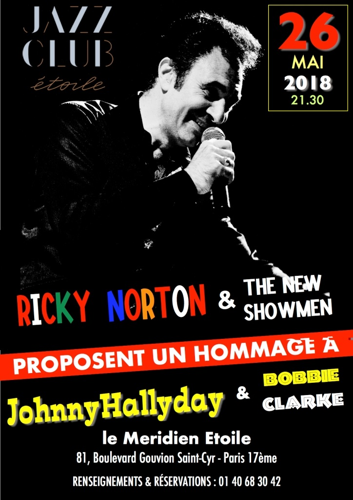 JOEY GRECO & RICKY NORTON 13/06/2018 Jazz Café Montparnasse (Paris). 18072909171323491615826616