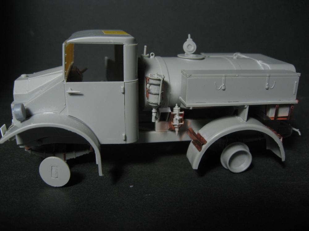 CMP chevrolet et Ford c60 petrol tank et water tank 18073010154123329215828704