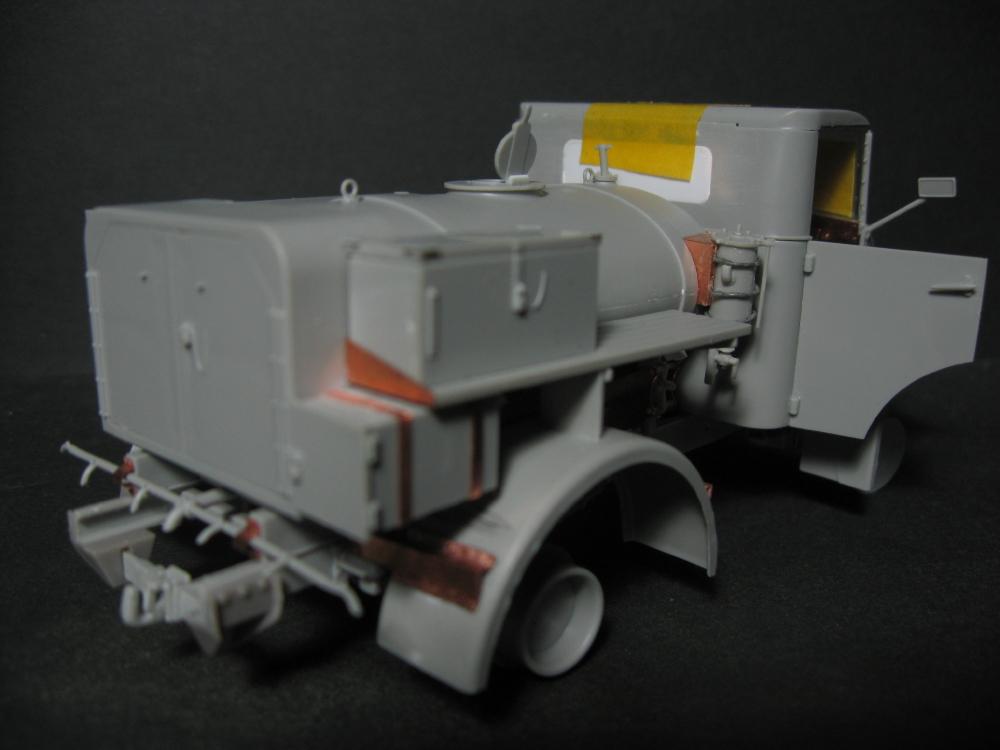 CMP chevrolet et Ford c60 petrol tank et water tank 18073010155123329215828705