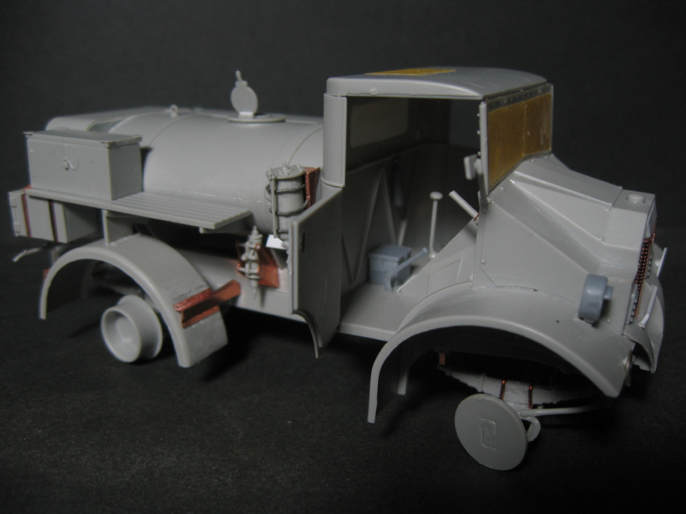 CMP chevrolet et Ford c60 petrol tank et water tank 18073010155623329215828706