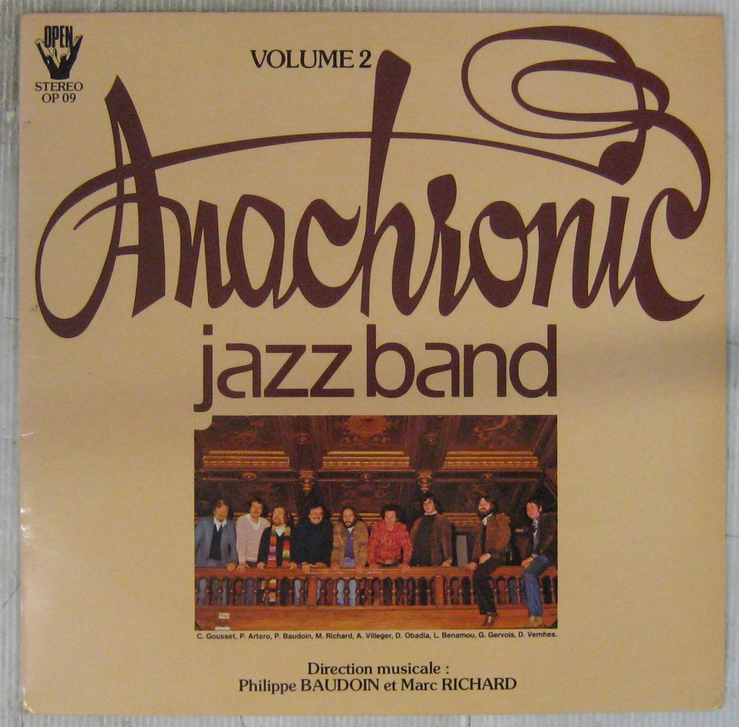 ANACHRONIC JAZZ BAND - Volume 2 - LP
