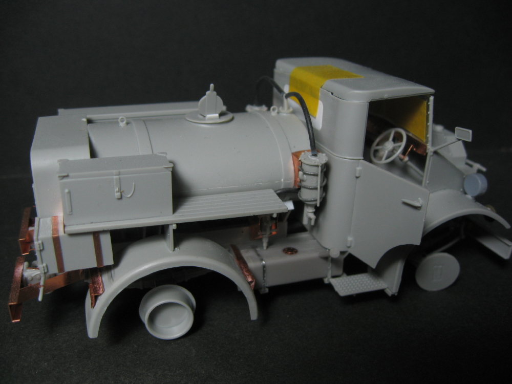 CMP chevrolet et Ford c60 petrol tank et water tank 18080203392723329215832071