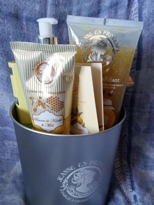 sceau jeanne en provence beurre de karité miel