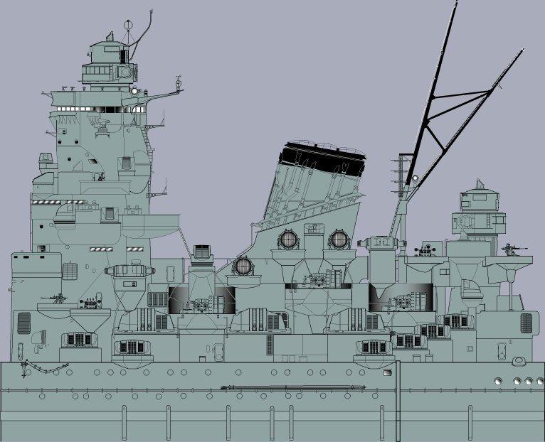 Yamato tamiya 1/350 up Fini le 15/08/2018 - Page 4 18080708594323134915839684