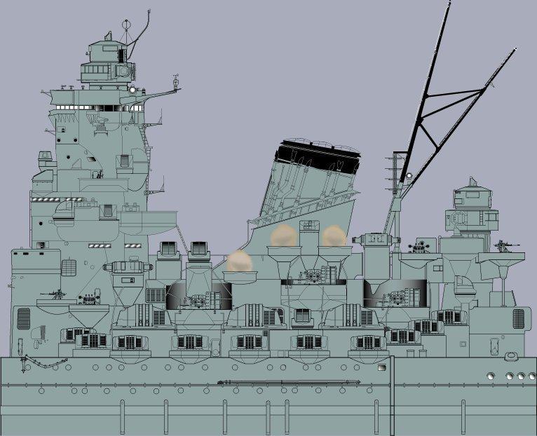 Yamato tamiya 1/350 up Fini le 15/08/2018 - Page 4 18080708594323134915839685
