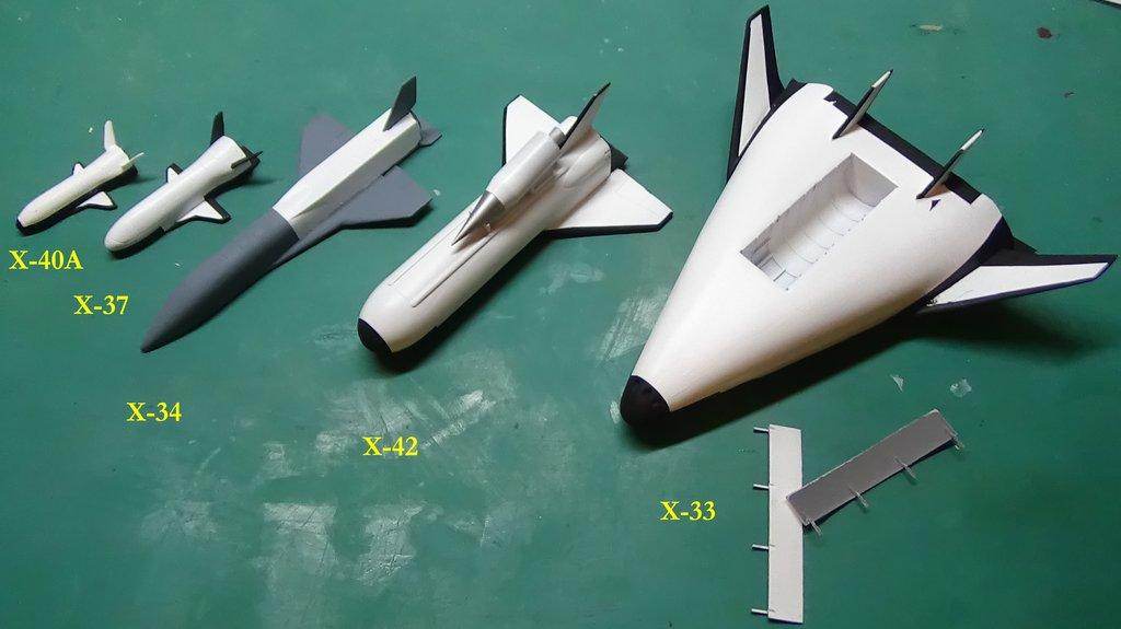 Reusable Launch Vehicles ou comment succéder à la Navette Spatiale 18080905363623134915842005