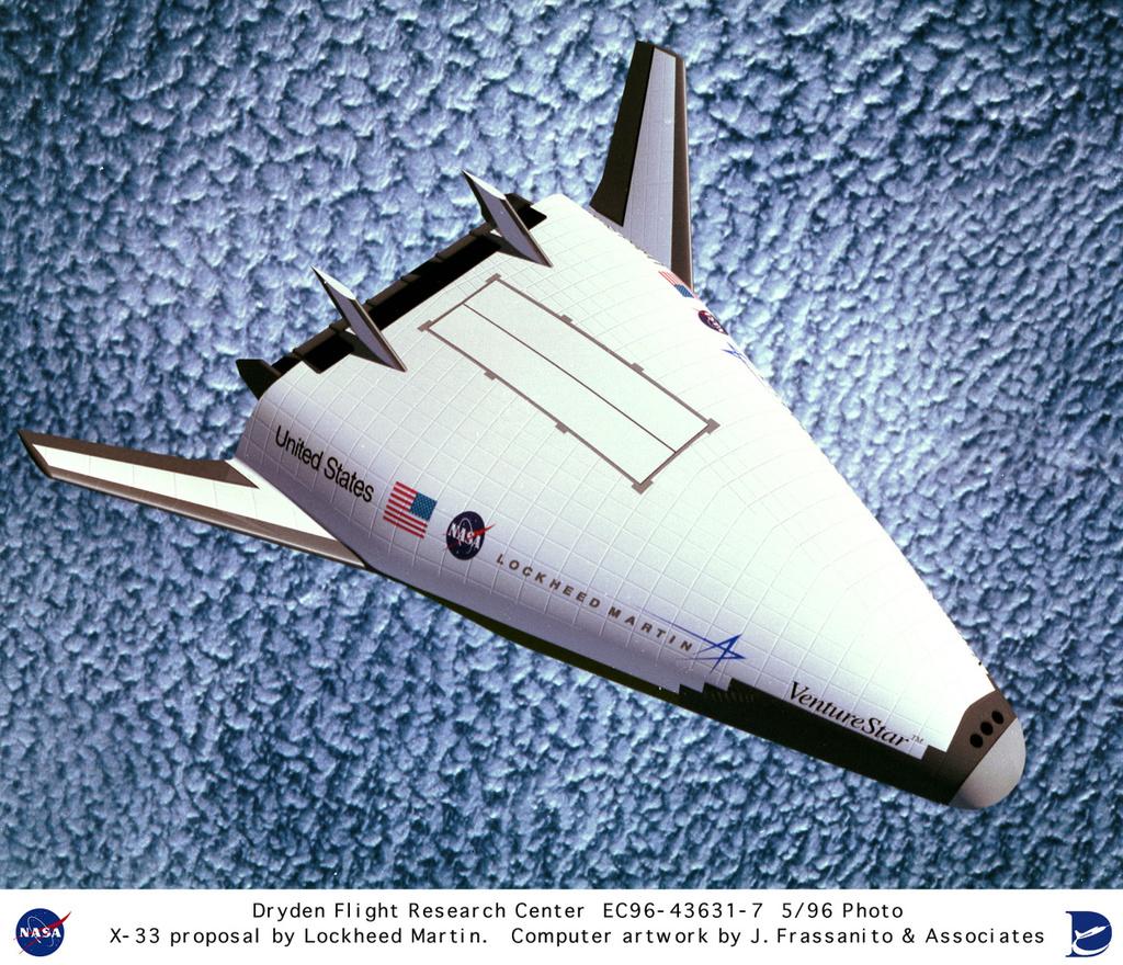 Reusable Launch Vehicles ou comment succéder à la Navette Spatiale 18080905393423134915842010