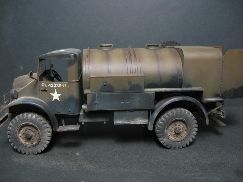 CMP chevrolet et Ford c60 petrol tank et water tank 18081207560923329215845463