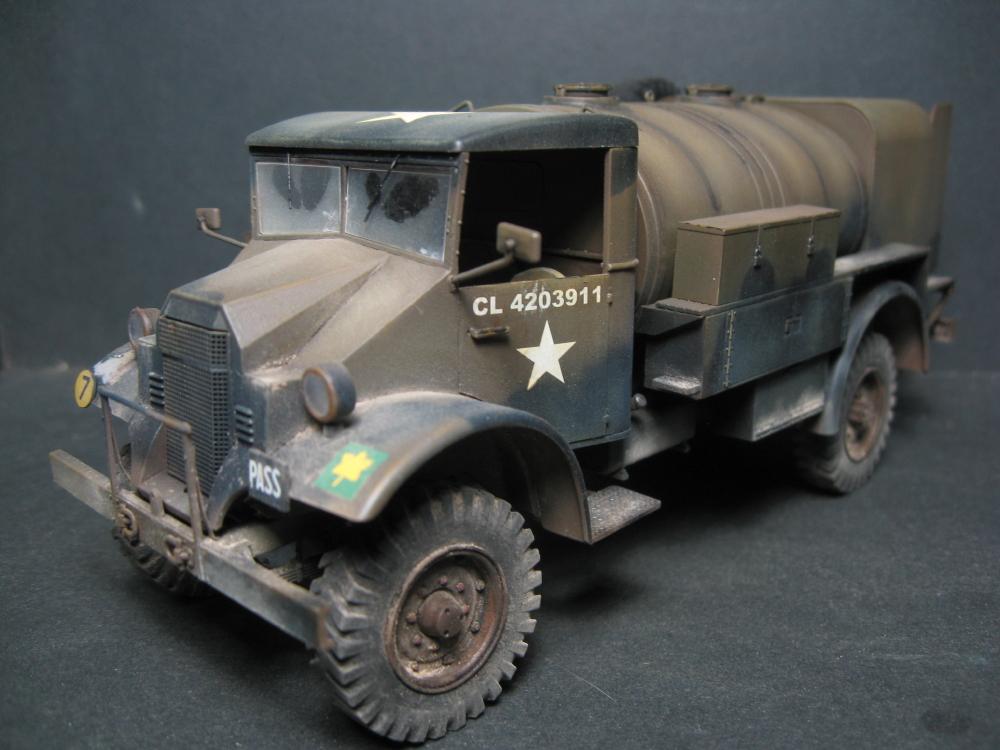 CMP chevrolet et Ford c60 petrol tank et water tank 18081207561723329215845464