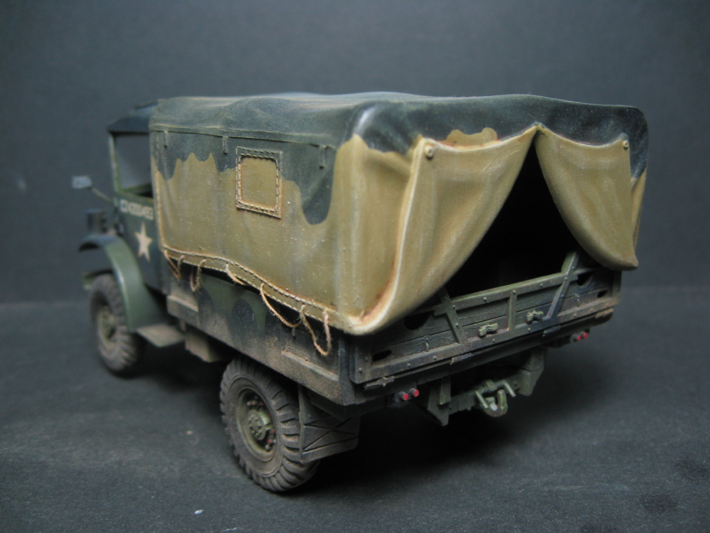 CMP chevrolet et Ford c60 petrol tank et water tank 18081207574223329215845470