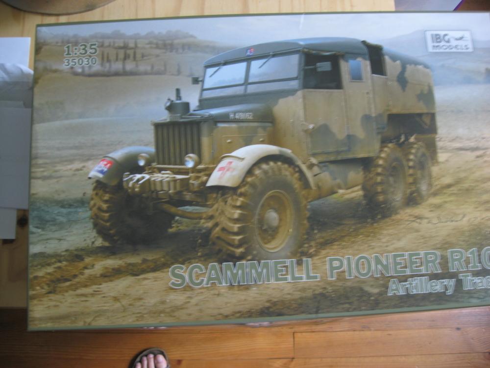 Scammell R100 et canon de 7.2 inch 18081408094923329215847992