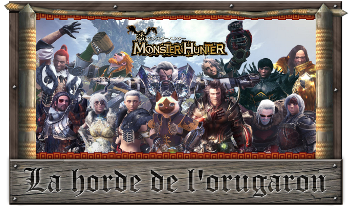 La Horde de l'Orugaron : Monster Hunter World