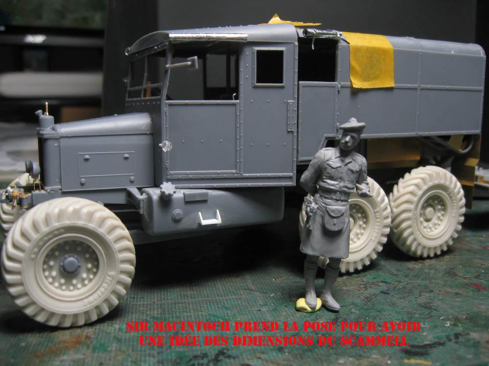 Scammell R100 et canon de 7.2 inch 18082108064923329215857647