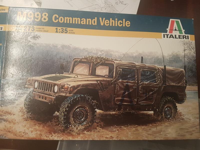 M998 Command Vehicle 1/35 Italeri 18082108451124268715857825