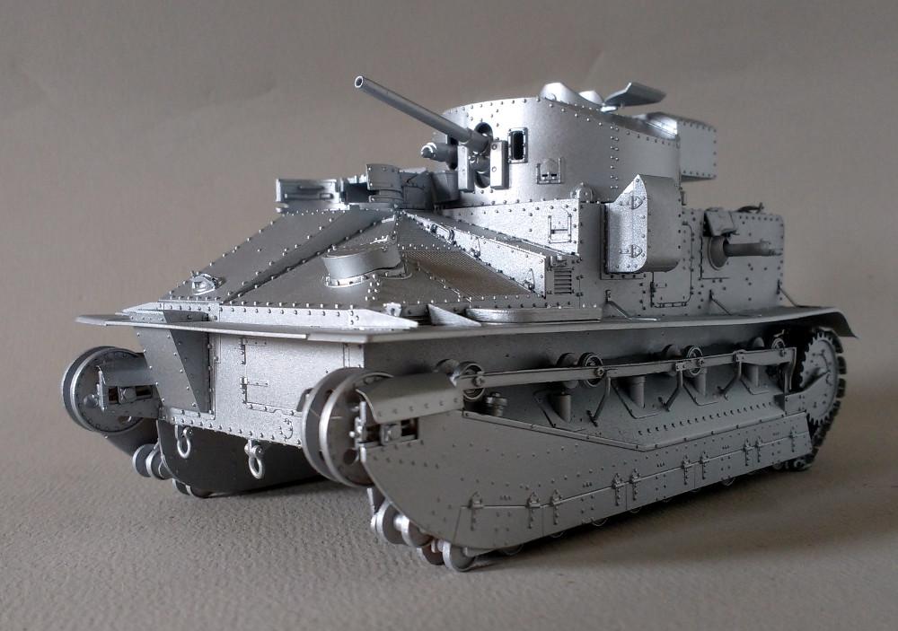 Vickers Medium MarkII** (Hobby Boss 1/35) 18082408310223099315861465
