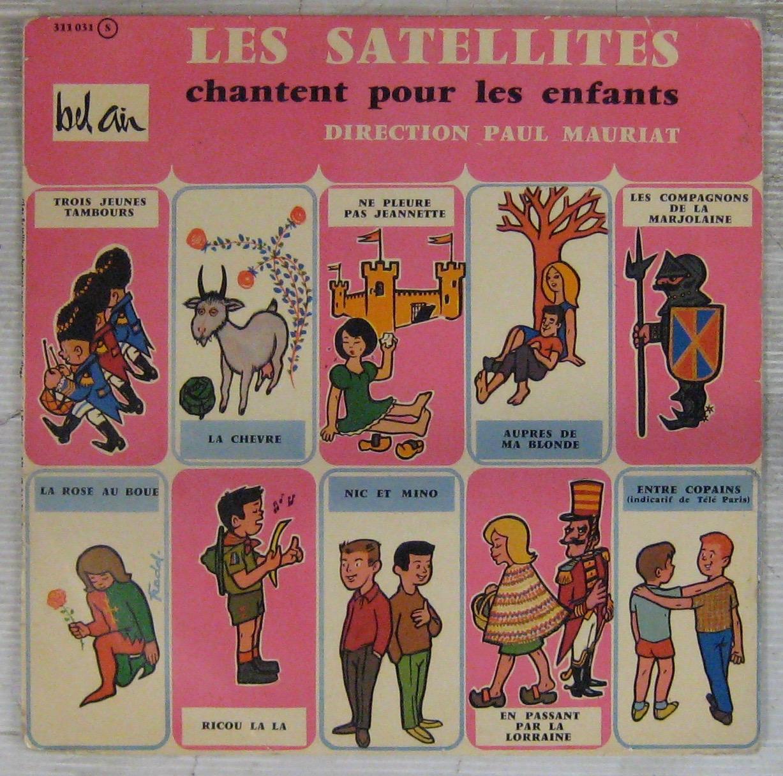 Satellites - Mauriat Paul et son Grand Orchestre Les Satellites chantent pour les enfants