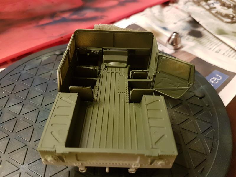 M998 Command Vehicle 1/35 Italeri 18082708283124268715865646