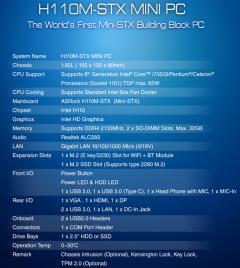 H110 STX - H110
