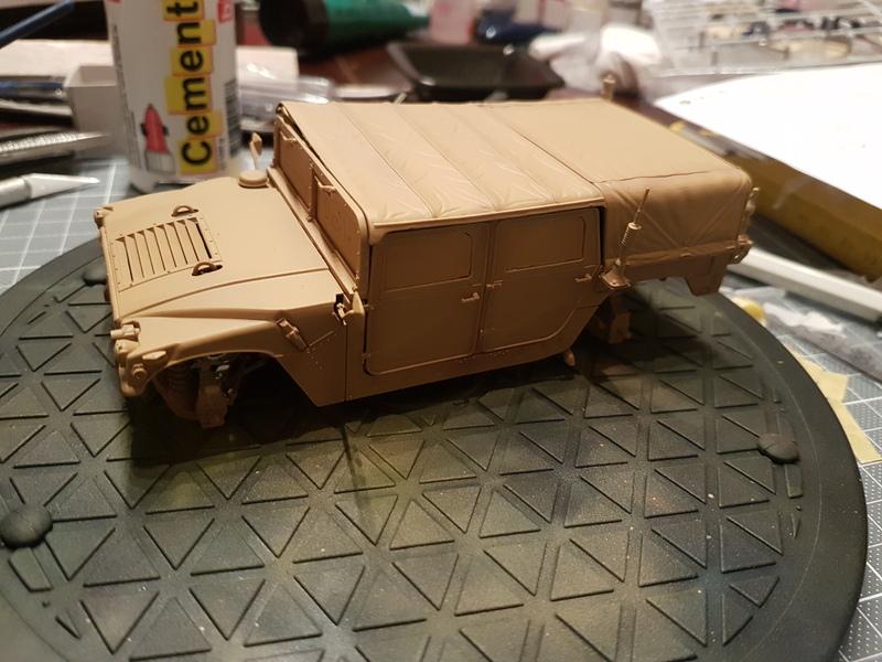 M998 Command Vehicle 1/35 Italeri 18082906245224268715868053