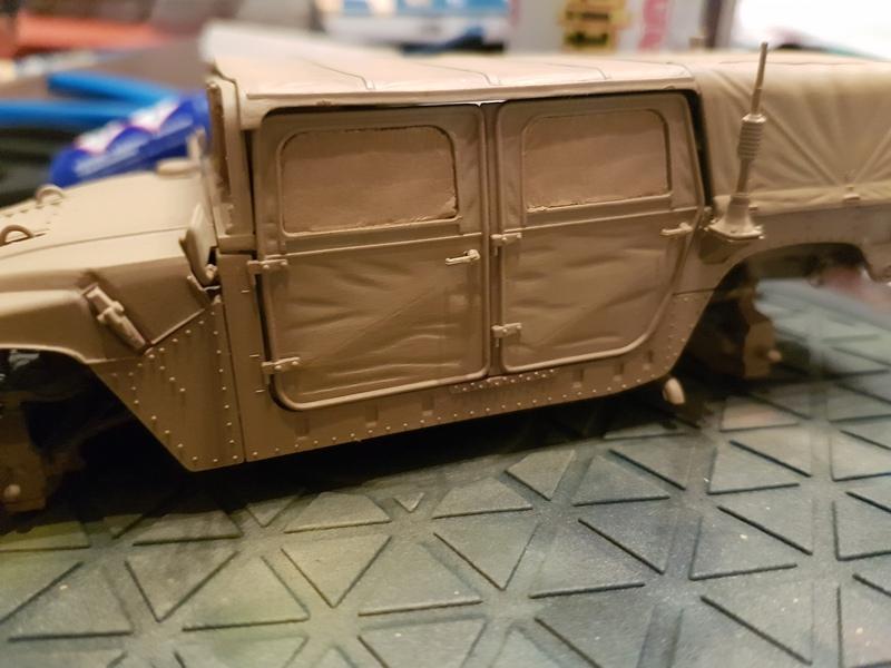 M998 Command Vehicle 1/35 Italeri 18082906245424268715868055