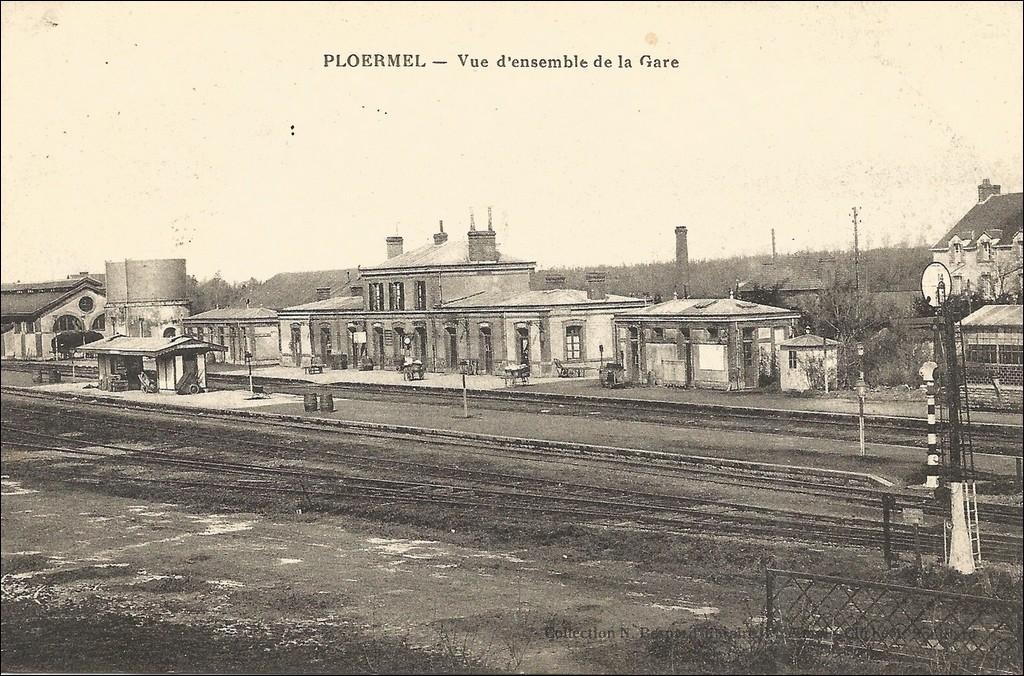 "Gare de Plöermel ""Morbihan"" 18083110240223562115870425"