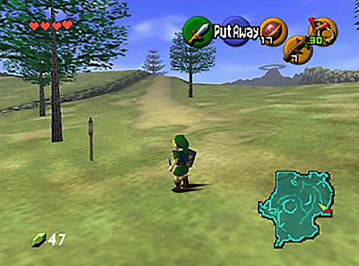 The Legend of Zelda : Ocarina of Time 1809011106304975115872021