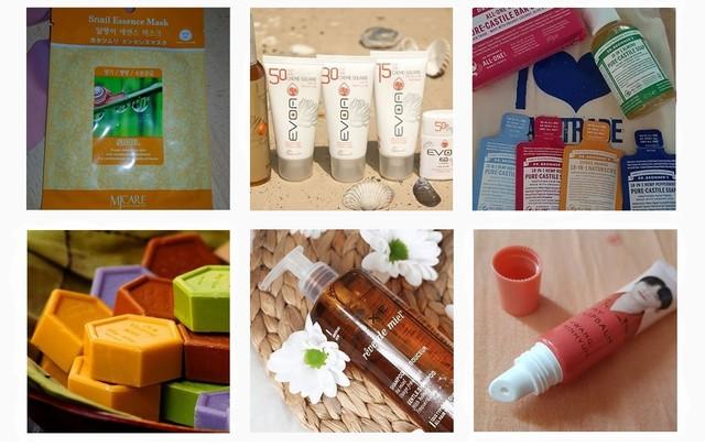 produits de beauté testés