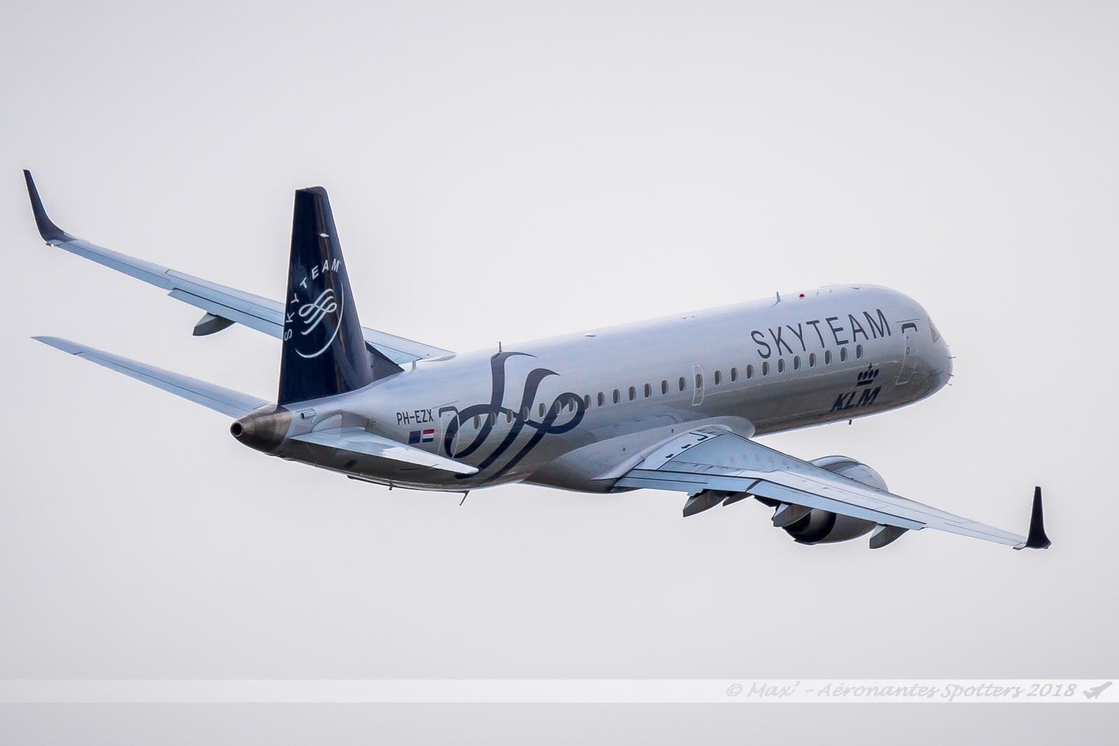 [29/08/2018] Embraer 190 (PH-EZX) KLM Cityhopper Skyteam c/s 18090201115224309015873832