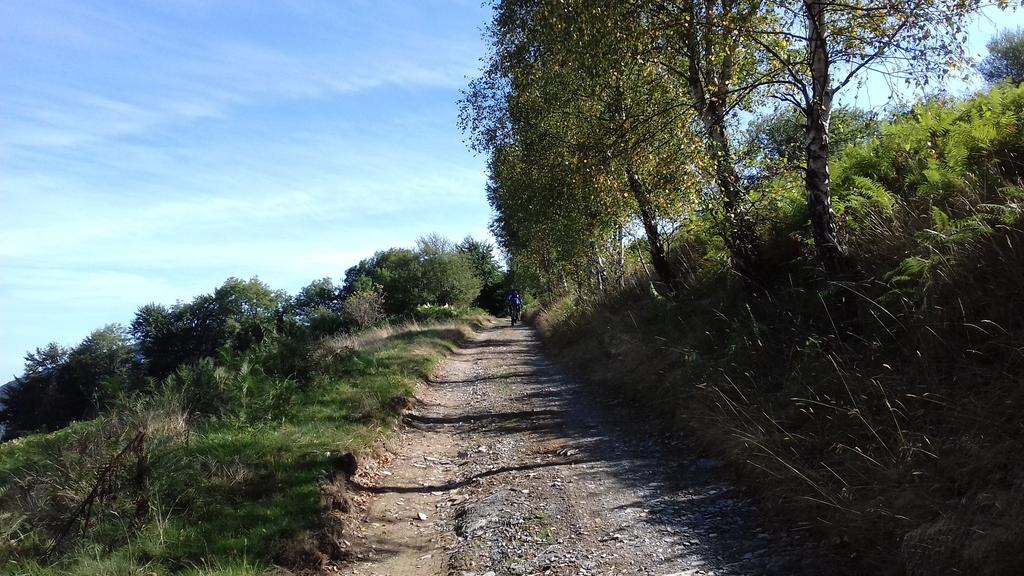 Grimpette vers le Col de la Courade
