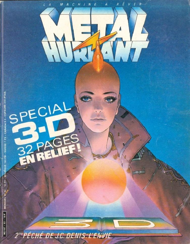 MÉTAL HURLANT SPÉCIAL 3D dans MAGAZINE 18090410164415263615876717