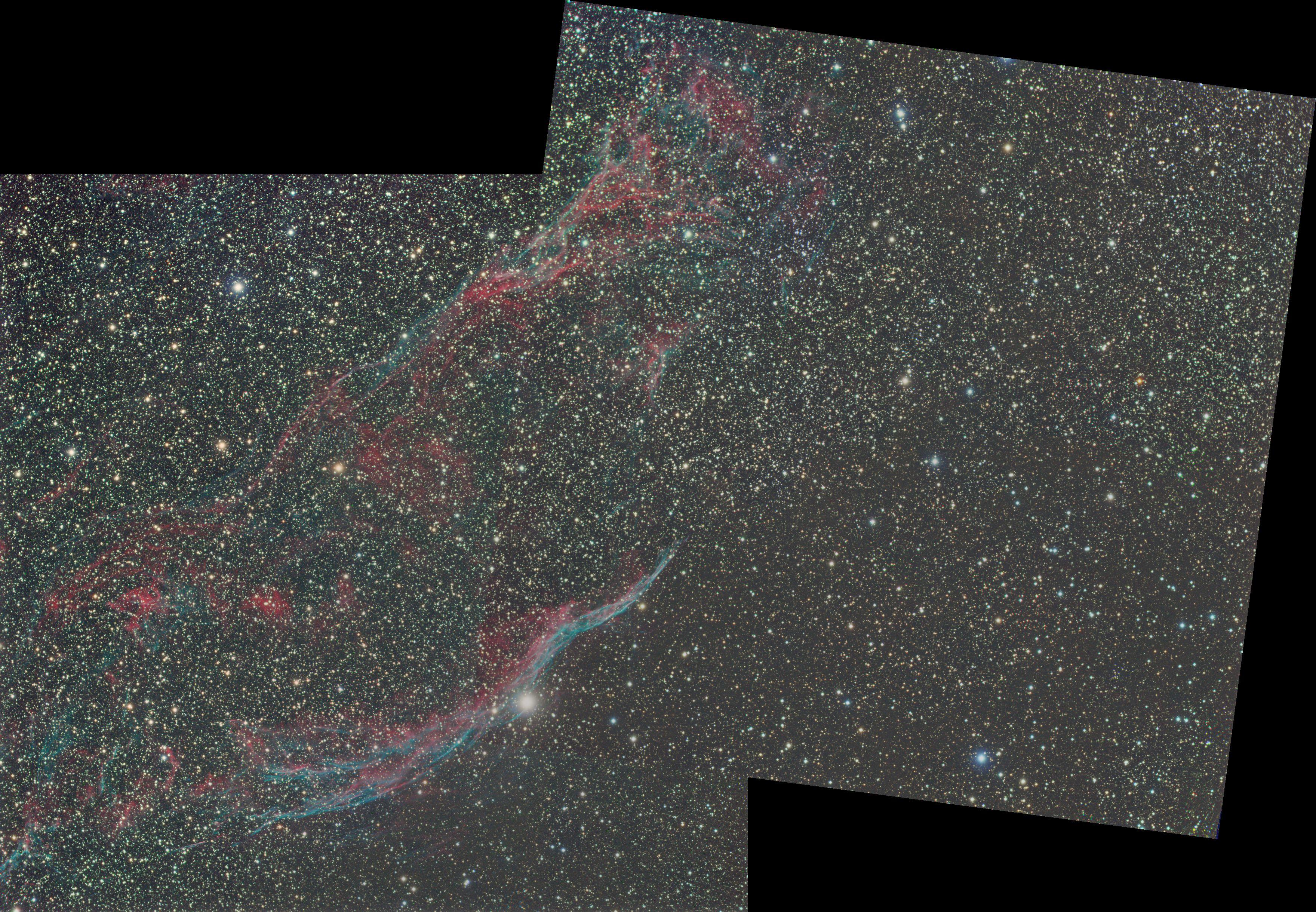 NGC 6960 ou Dentelles du Cygne  18090709334611235715882518