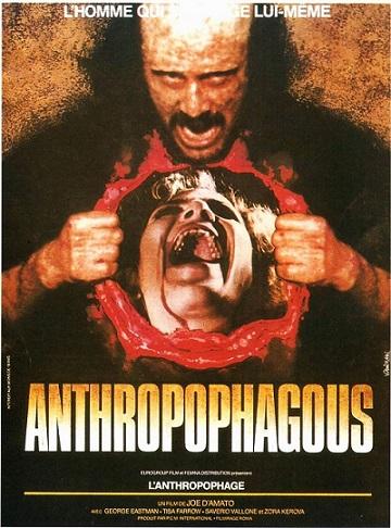ANTHROPOPHAGOUS (1980) dans CINÉMA 18090806324715263615882750