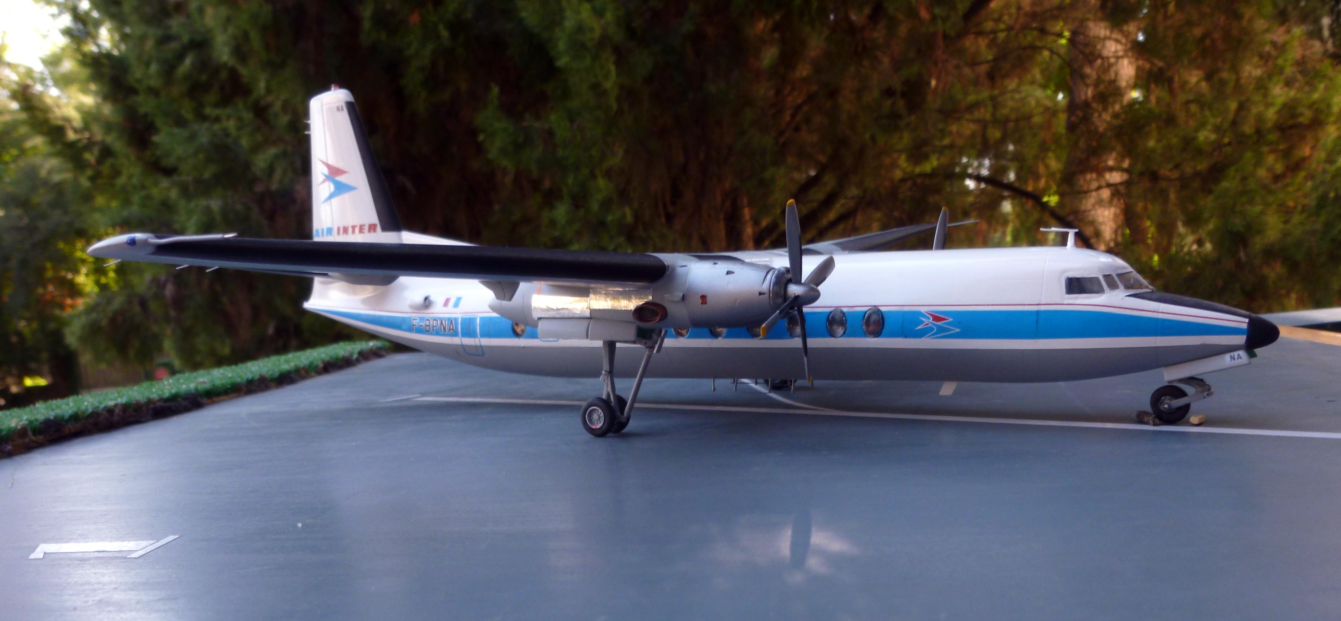 Fokker F 27-500  ESCI 1/72 scale - Page 2 18091105574621371115887937