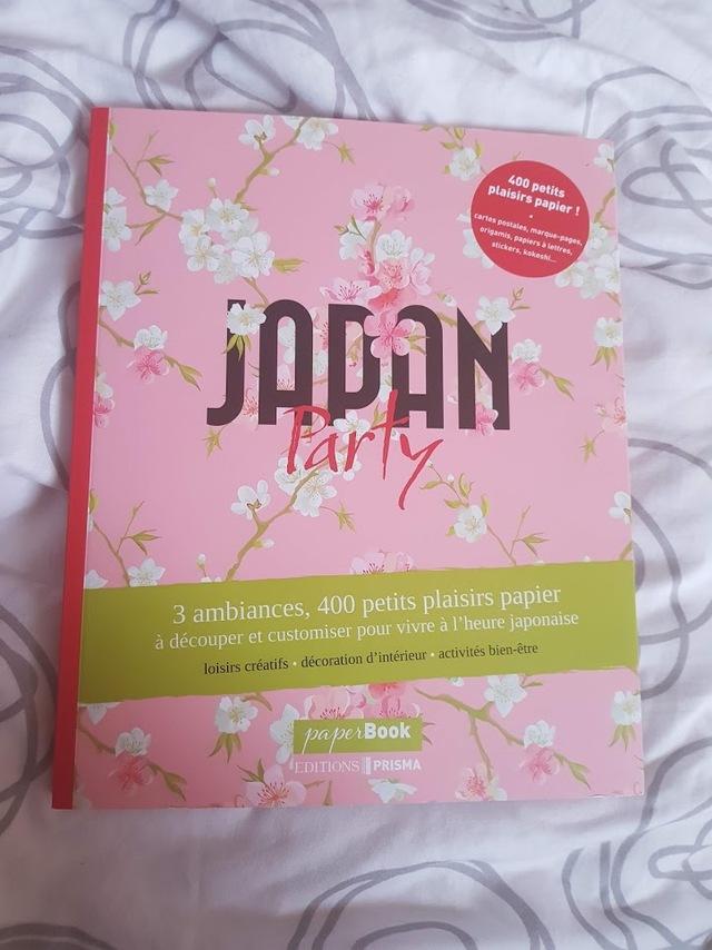 couverture livre japan party