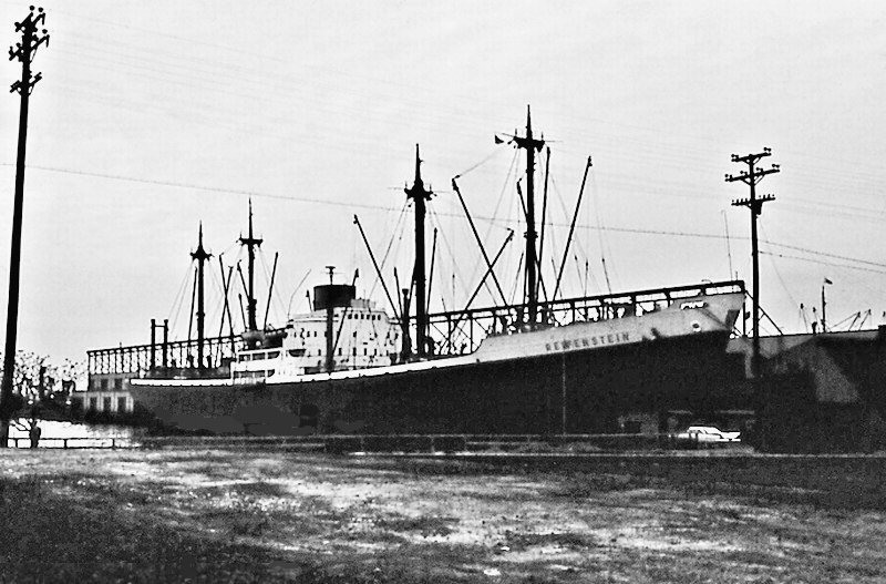 MS_Reifenstein_cargo_ship_of_the_North_German_Lloyd_at_the_Port_of_Baltimore_-_1960