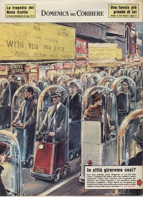 RÉTROFUTURISME - Transport urbain dans Rétrofuturisme 18092309283815263615906873
