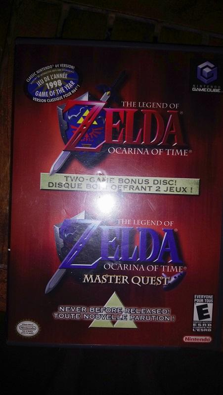 fake ? zelda OOT MQ gamecube 1809250947119132815909965