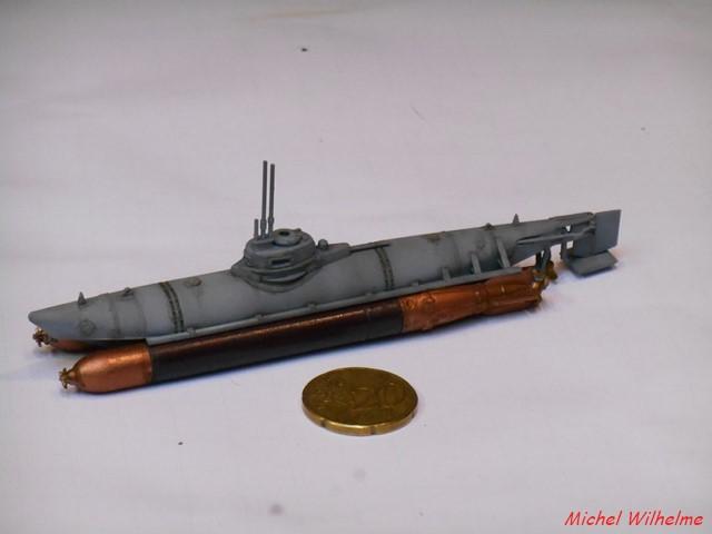 BIBER  kit 1/72 de special navy (c'est du SPECIAL HOBBY mais marine ) 1809251120345625615910122