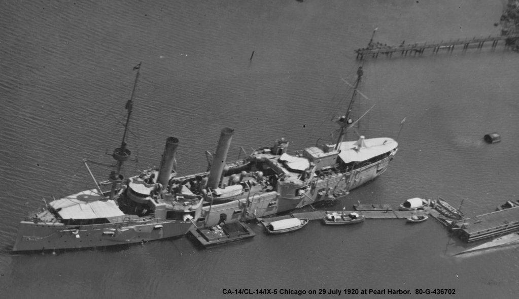 USS Chicago - croiseur protégé 1/700 COMBRIG 18092602201423134915911812