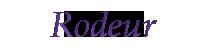 Rodeur (Peuple)