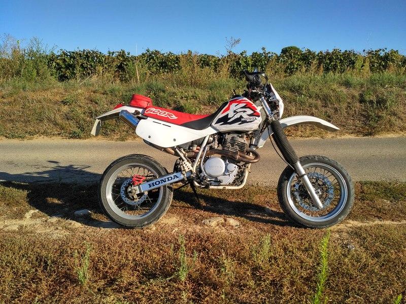 Honda 600 XR 18100112551824333815919131