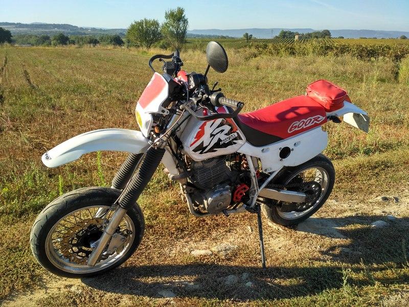 Honda 600 XR 18100112552024333815919132