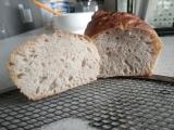 """Mon premier essai de pain sans pétrissage (""""no-kneading bread"""") Mini_18100306414124370515922134"""