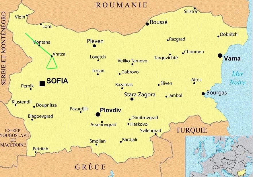 Bulgarie Vratsa